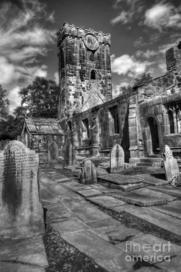 Heptonstall Photograph - Perditit Ecclesia Tres by John Ellison