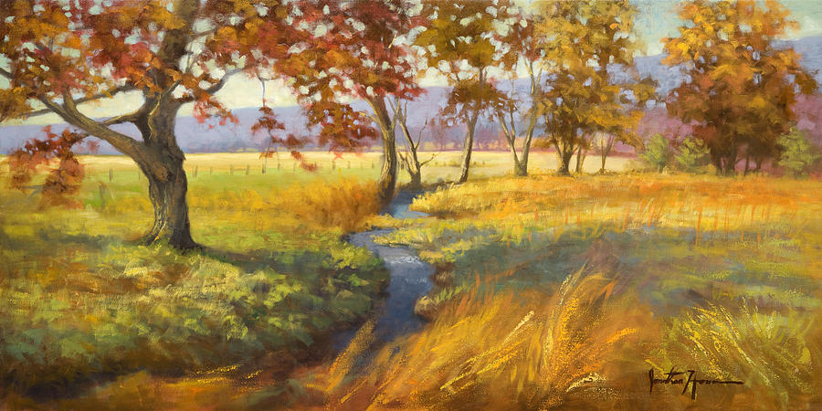 Portraits Painting - Perfect Afternoon by Jonathan Howe