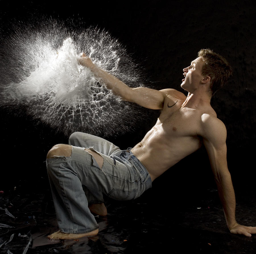 Motion Photograph - Perfect Explosion by Amelia Falk