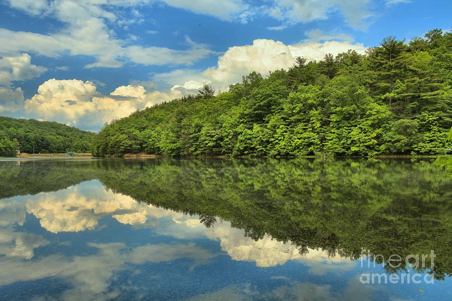 Pipestem West Virginia Photograph - Perfect Reflections by Adam Jewell