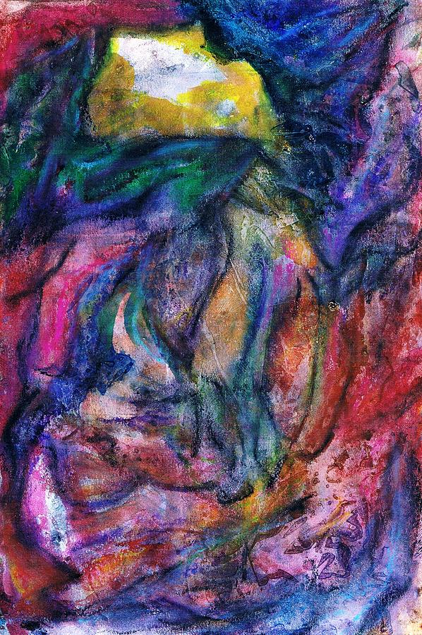 Abstract Painting - Perseverance by Cassandra Donnelly