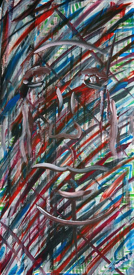 Acrylic Painting - Persevere by Jamila Tolbert