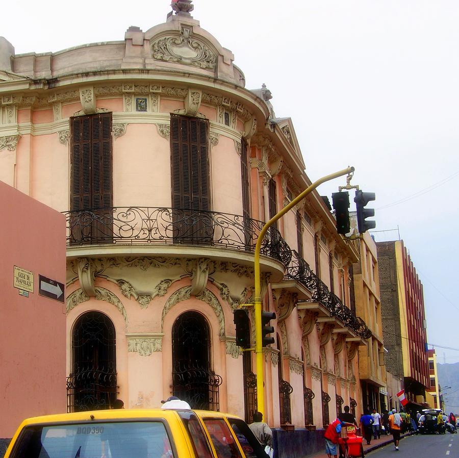Peru Photograph - Peruvian Streets by Karen Wiles