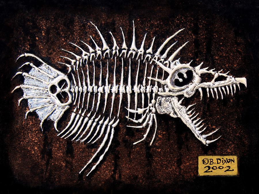 Fish Painting - Pescado Dos by Baron Dixon