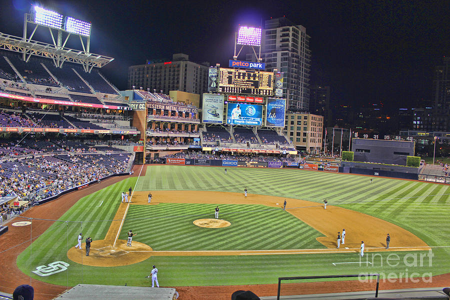 Petco Park San Diego Padres Photograph By Rj Aguilar