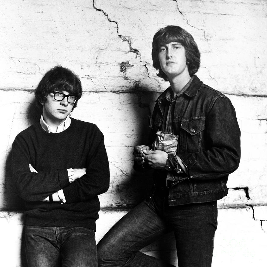 Rock And Roll Photograph - Peter And Gordon 1964 by Chris Walter