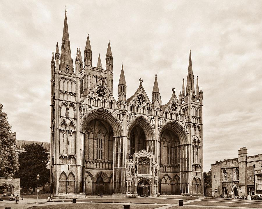 Peterborough Cathedral by David Nicholls