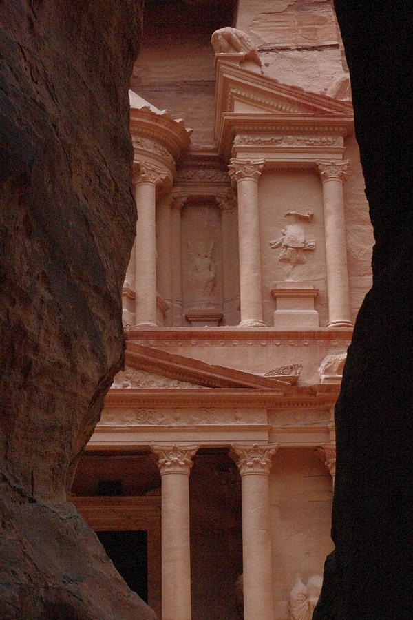Petra Painting - Petra by David George