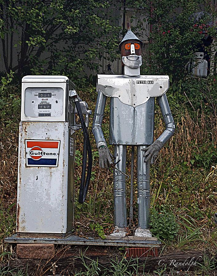 Tin Man Photograph - Petro Man by Cheri Randolph