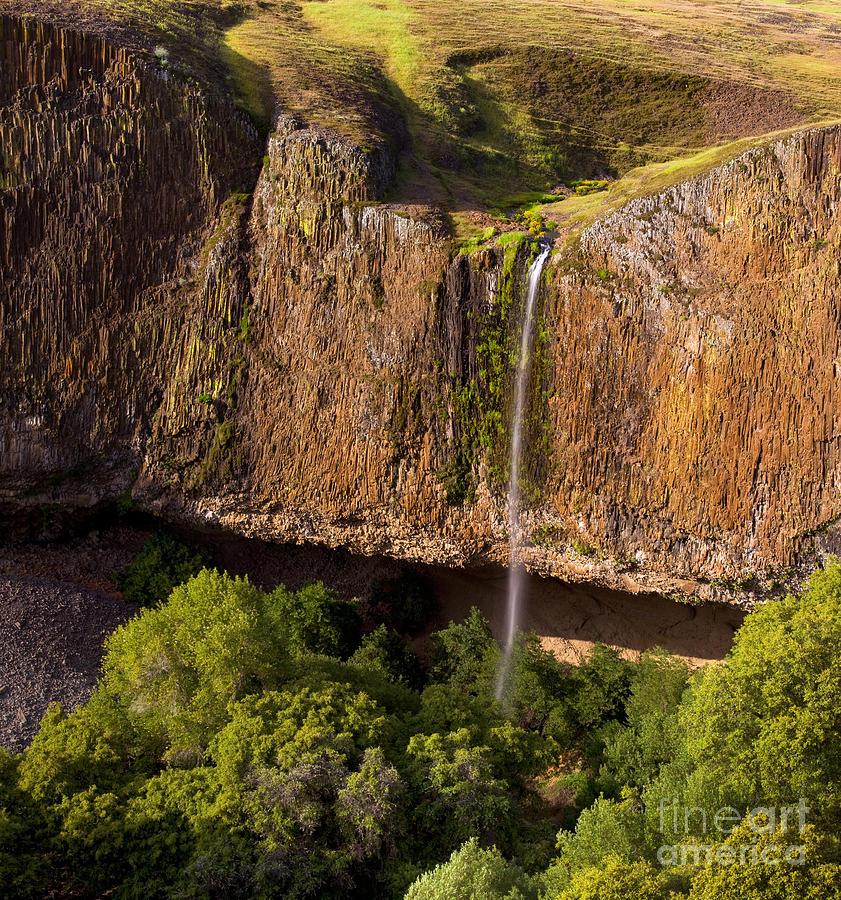 Waterfall Photograph - Phantom Falls in Late Afternoon by Matt Tilghman