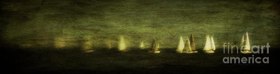 Lensbaby Photograph - Phantom Fleet by Andrew Paranavitana