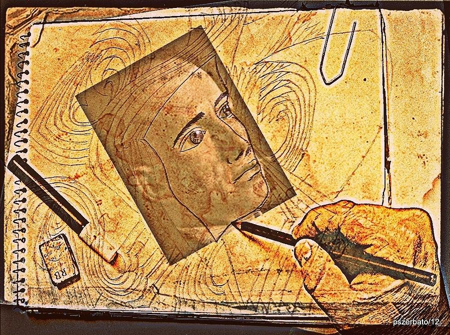 Creativity Digital Art - Phenomena Of Memory Registers by Paulo Zerbato