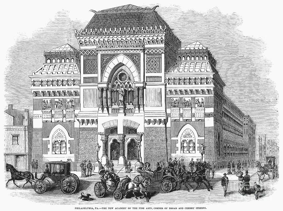 1876 Photograph - Philadelphia: Museum, 1876 by Granger
