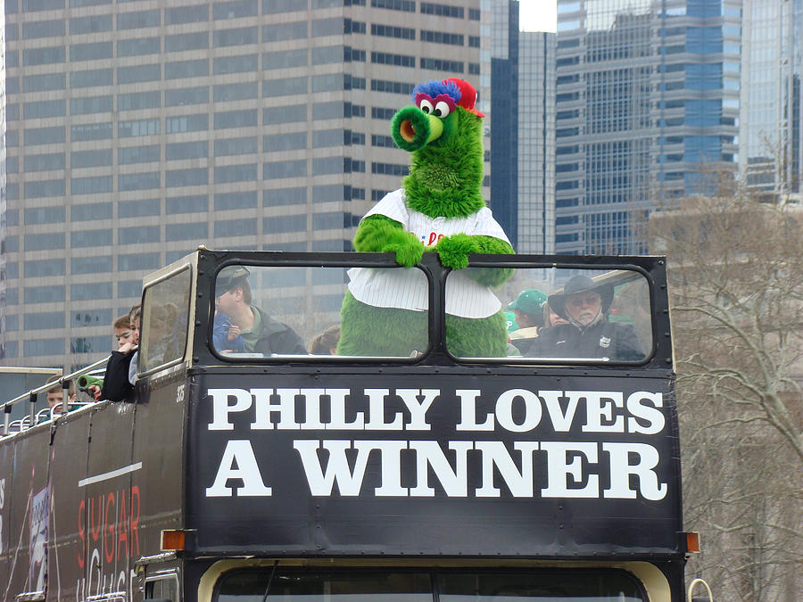 Philly Loves A Winner Photograph by Alice Gipson