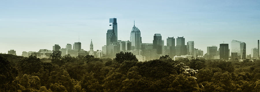 Philly Photograph - Philly Panorama by Bill Cannon