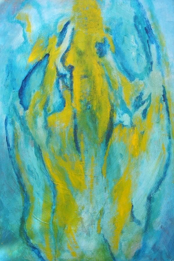 Bebe Painting - Phoenix Rising by Bebe Brookman