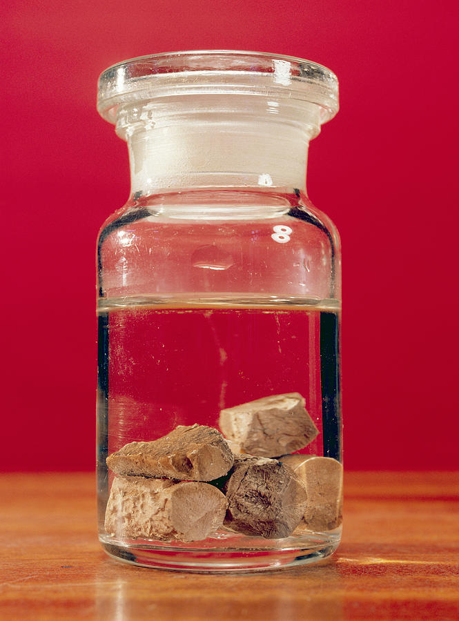 Phosphorus Photograph - Phosphorus In A Jar by Andrew Lambert Photography