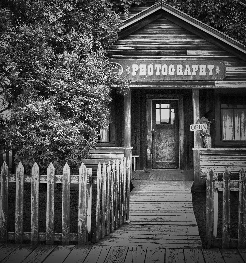 Street Photographer Photograph - Photo Shop  by Jerry Cordeiro