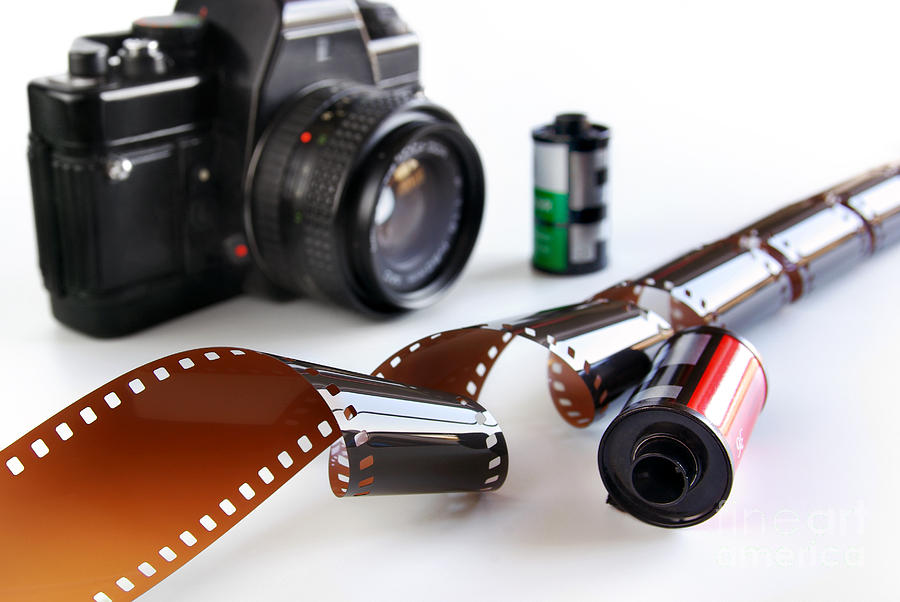 35mm Photograph - Photography Gear by Carlos Caetano