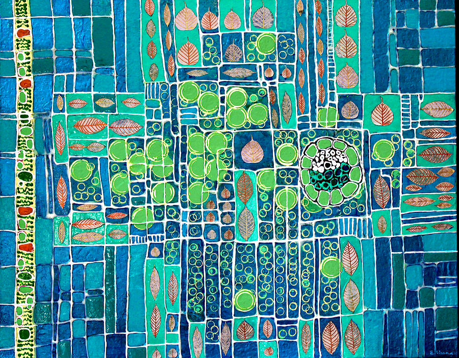 Photosynthesis Painting - Photosynthesis by Ethel Vrana
