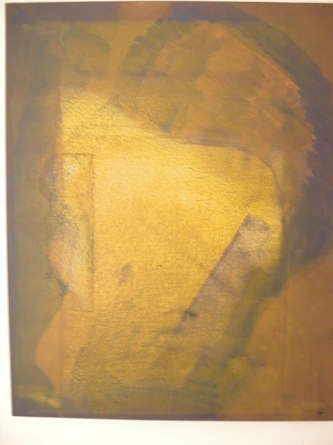 Abstract Figure Painting - Physiognomy 3 by Harry  Nash