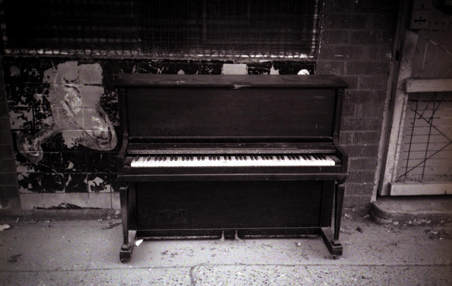 Louisiana Photograph - Piano Bar- Tallulah Louisiana by Doug Duffey
