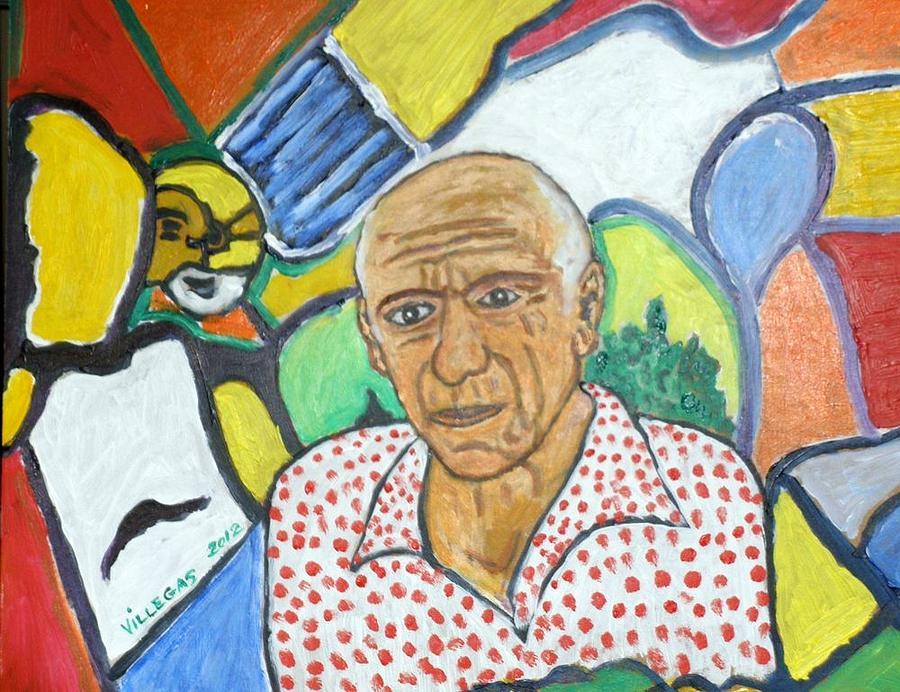 Portrait Painting - Picasso Portrait by Jose Patricio Villegas