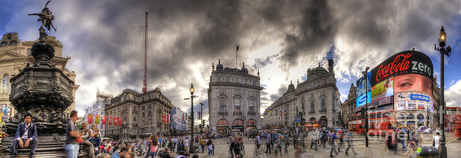 For Sale Photograph - Piccadilly Panorama by Yhun Suarez