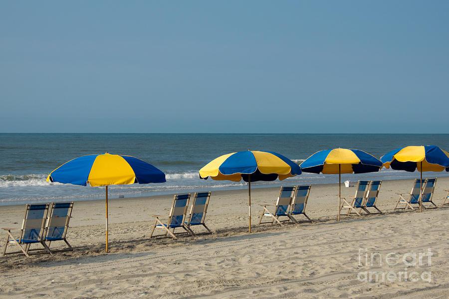 Beach Photograph - Pick A Seat by Matthew Trudeau