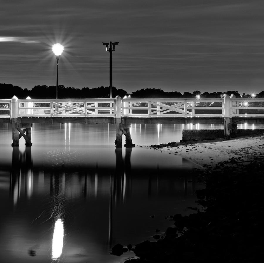 Concord Photograph - Picketted Jetty by Mark Lucey