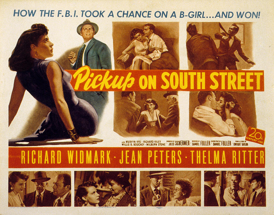1953 Movies Photograph - Pickup On South Street, Jean Peters by Everett