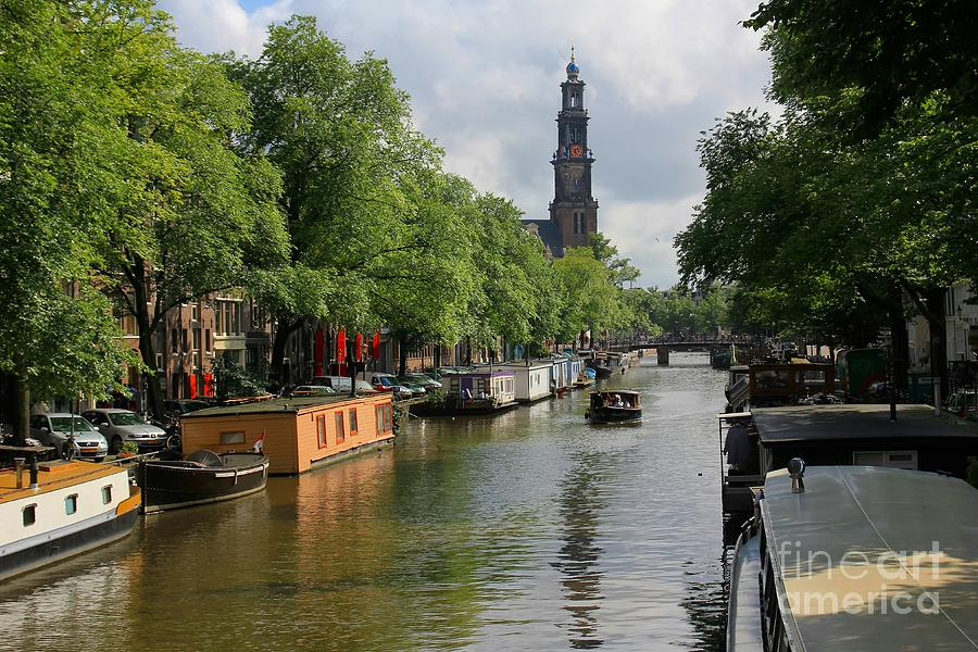 Amsterdam Photograph - Picturesque Amsterdam by Sophie Vigneault