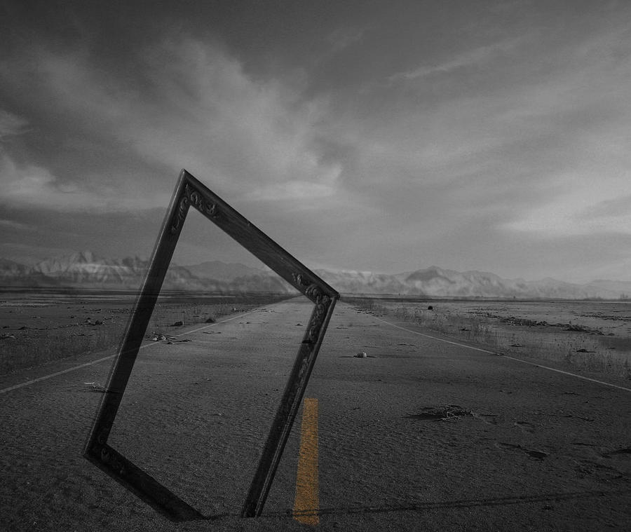 Artist Photograph - Picturing The Road Ahead by Jerry Cordeiro