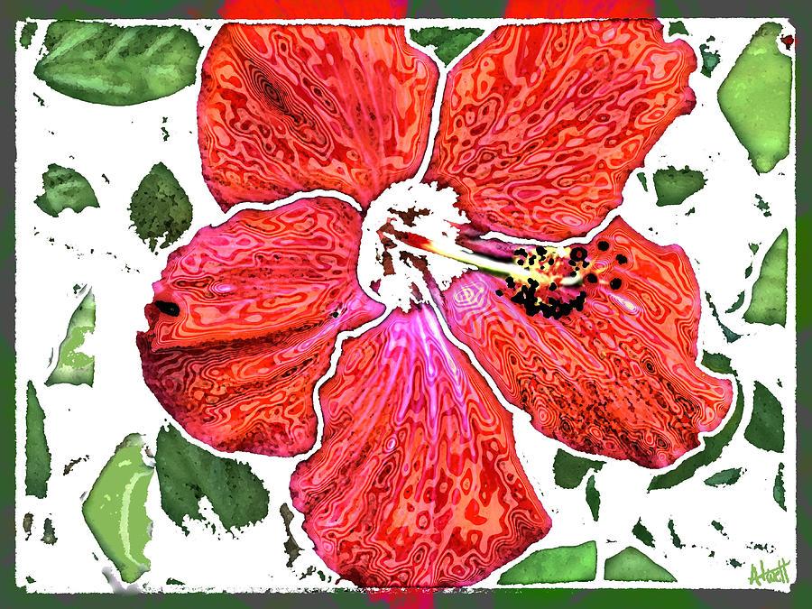 Flowers Digital Art - Pieces by Marilyn Atwell