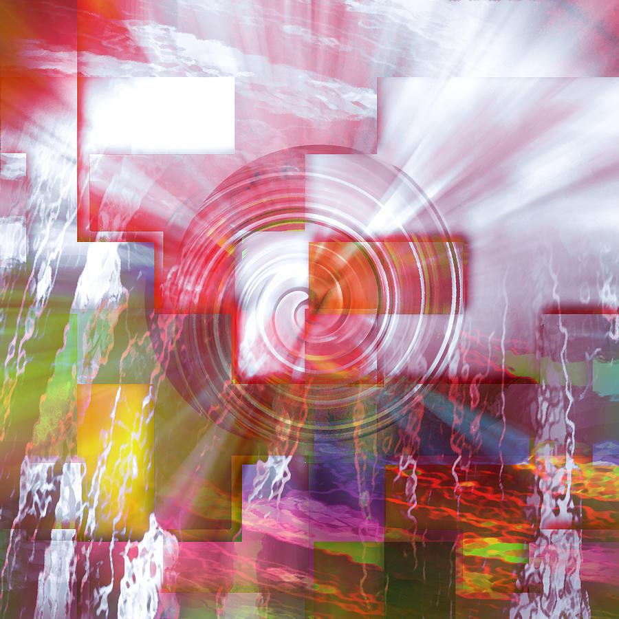 Eruption Digital Art - Pieces Of Me by Florin Birjoveanu
