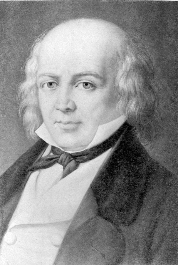 History Photograph - Pierre Jean De B�ranger 1780-1857 by Everett