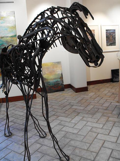 Found Object Sculpture - Pierson by Malen
