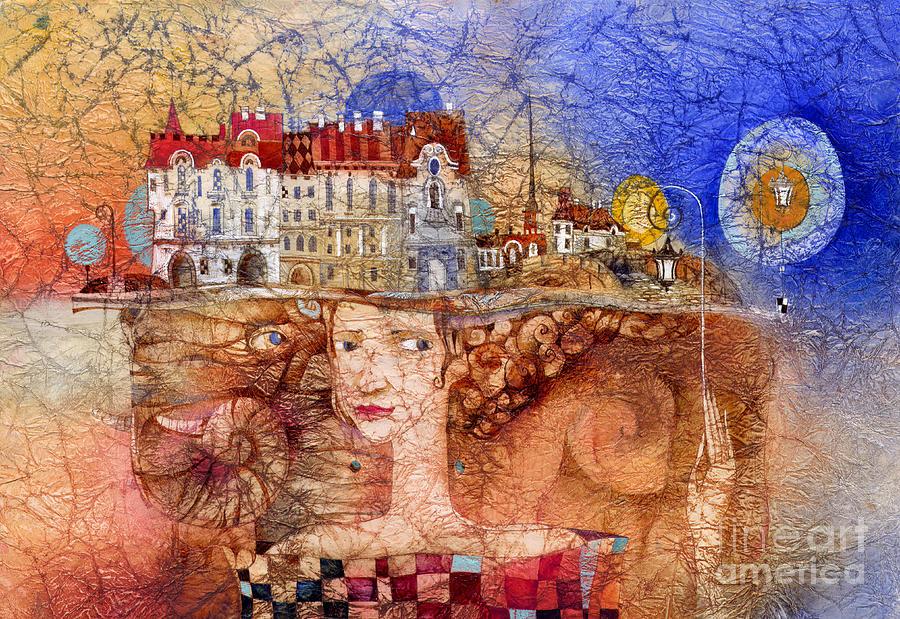 Pilgrims Painting - Pilgrims by Svetlana and Sabir Gadghievs