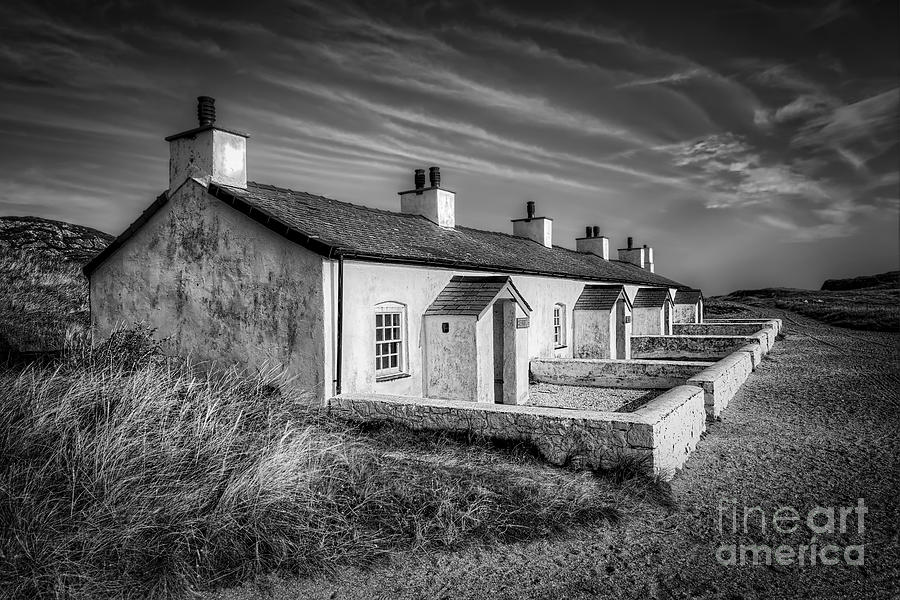 Anglesey Photograph - Pilot Cottages by Adrian Evans