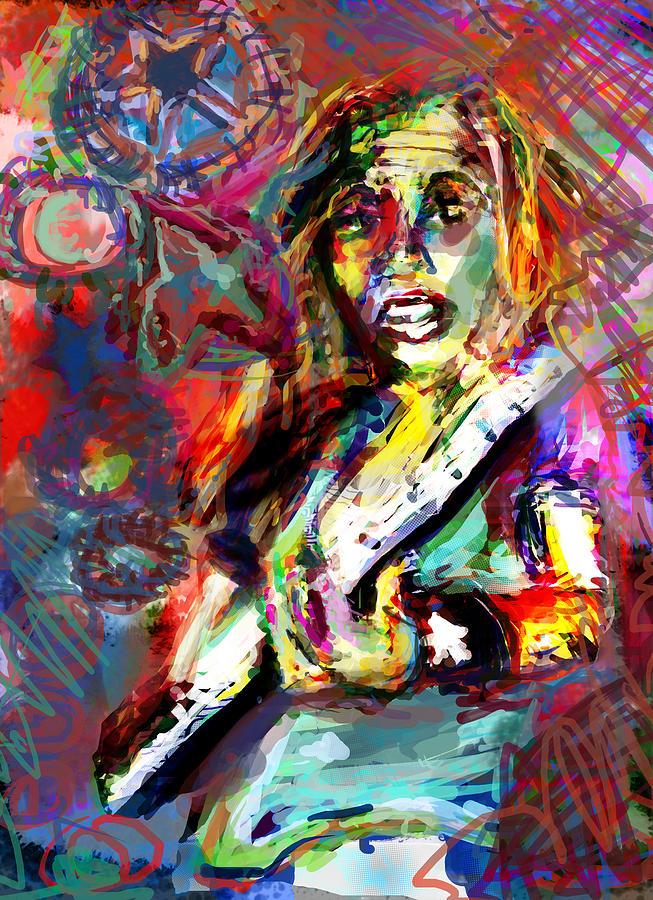 Rocker Digital Art - Ping by James Thomas
