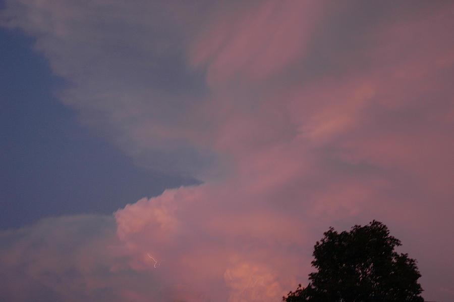 Usa Photograph - Pink And Blue Sky by LeeAnn McLaneGoetz McLaneGoetzStudioLLCcom