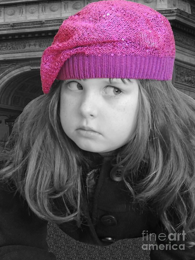 Chelsy Photograph - Pink Hat by ChelsyLotze International Studio