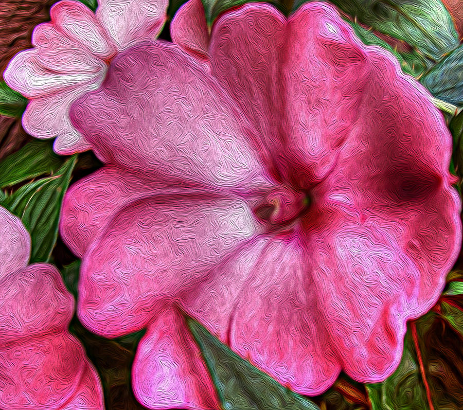 Pink Photograph - Pink Love by Jeanean Gendron