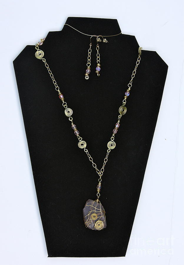 Pink Jewelry - Pink Seafoam by Jan Bennicoff