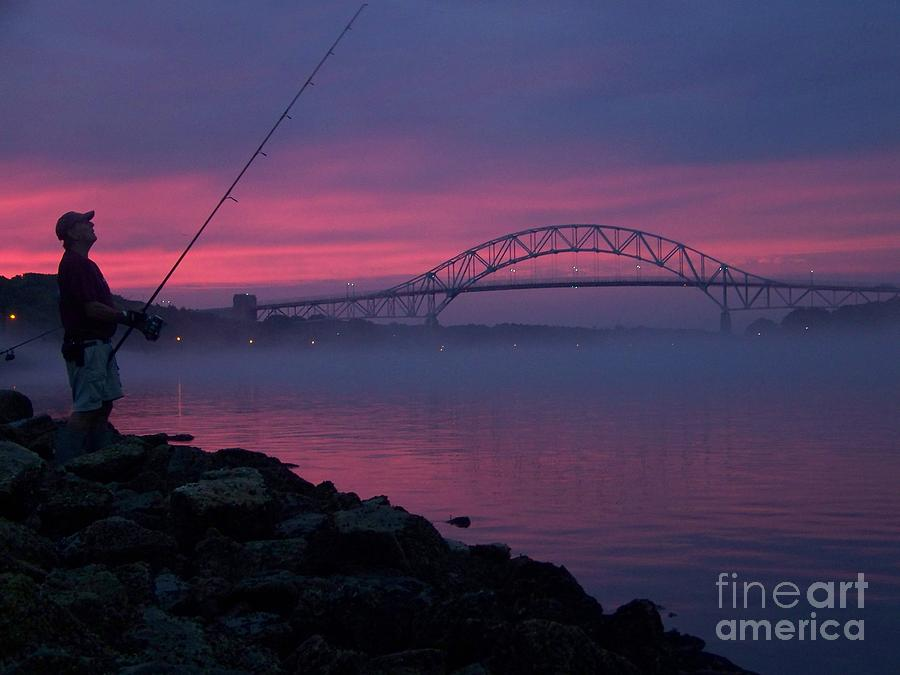 Photograph - Pink Skies In The Morn by John Doble