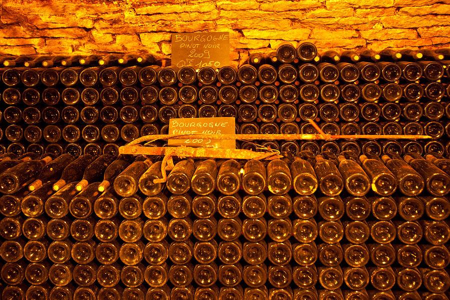Pinot Noir Photograph - Pinot Noir-france by John Galbo