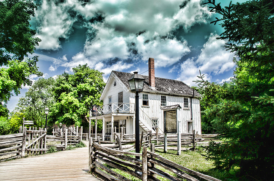 House Photograph - Pioneer Village by Jana Smith