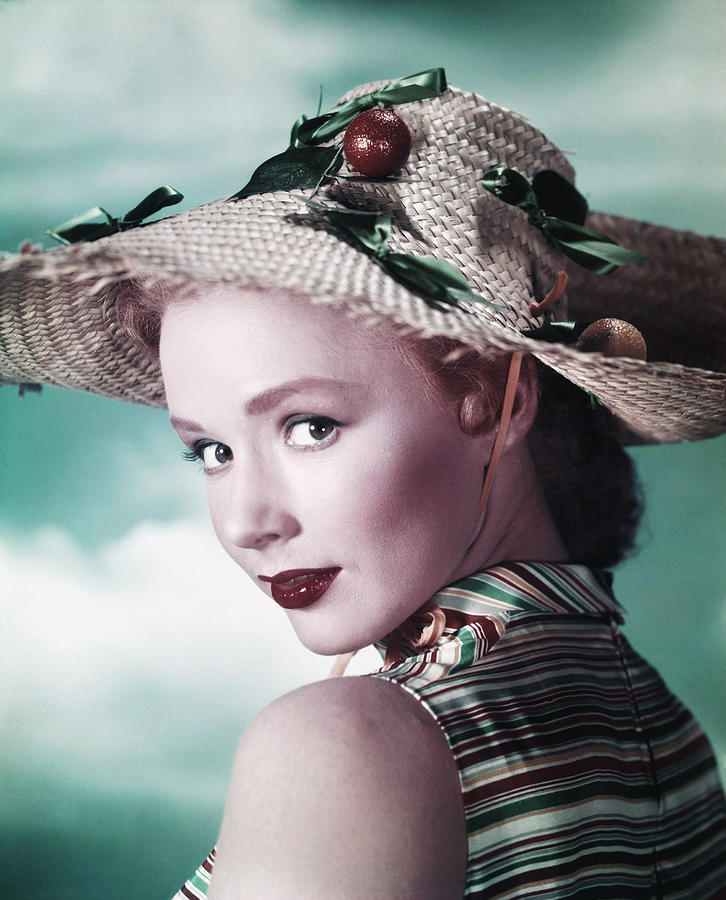 Char-proj Photograph - Piper Laurie, Ca. Early 1950s by Everett