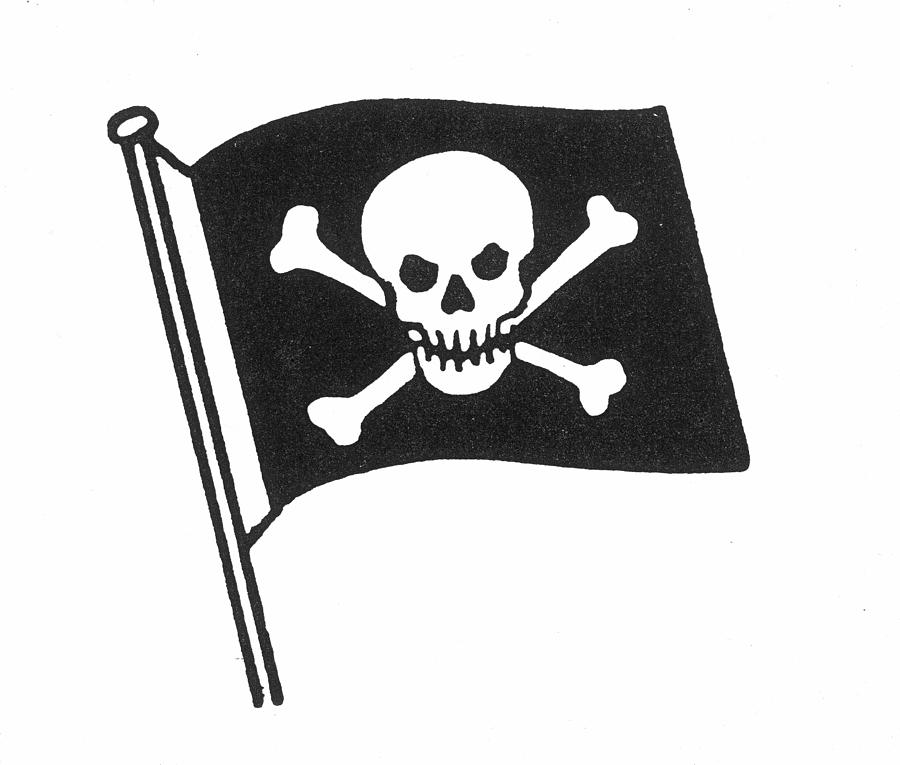 pirates jolly roger flag photograph by granger rh fineartamerica com Check Mark Clip Art Check Mark Clip Art
