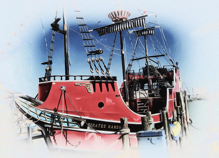 Pirates Photograph - Pirates Ransom - Clearwater Florida by Bill Cannon